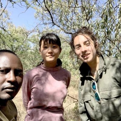 ケニアでアフリカ東部サバンナ環境保護 松尾凪倖